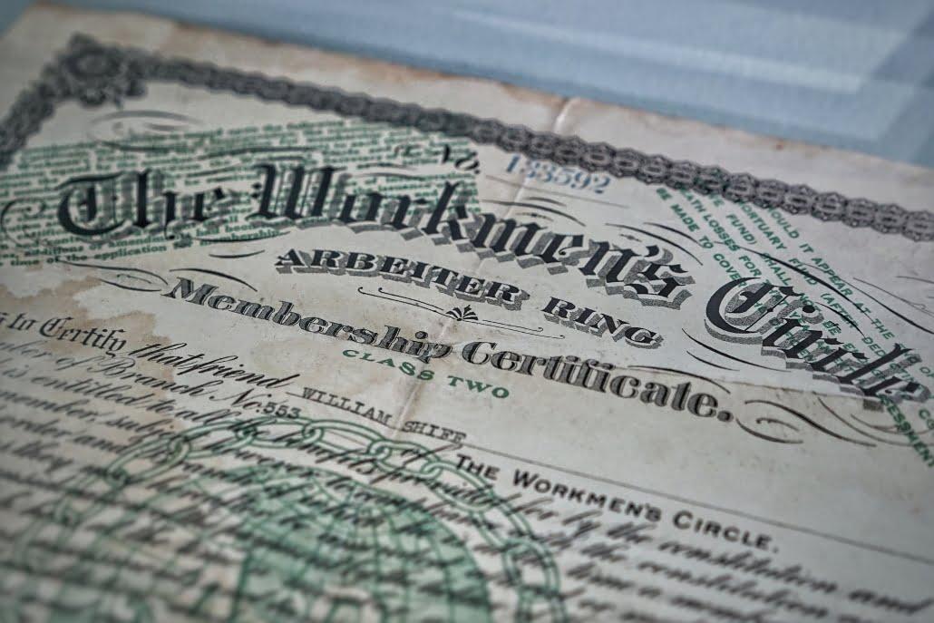 Membership Certificate paper